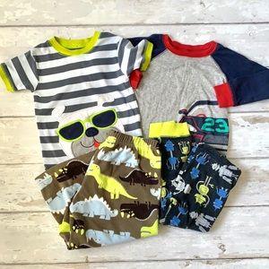 Boys 2T Pajama Set Bundle Mix & Match 4pc